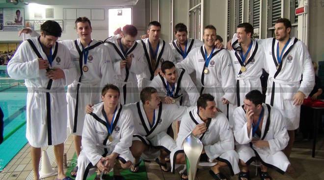 Savona - festa Partiza vittoria Len super cup