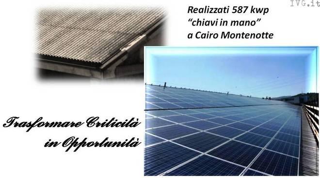 tetti amianto, pannelli fotovoltaici