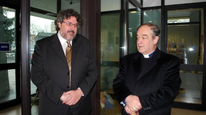Vaccarezza e vescovo Lupi