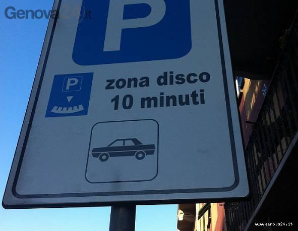 cartello stradale rapallo