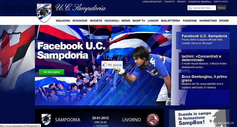 facebook sampdoria