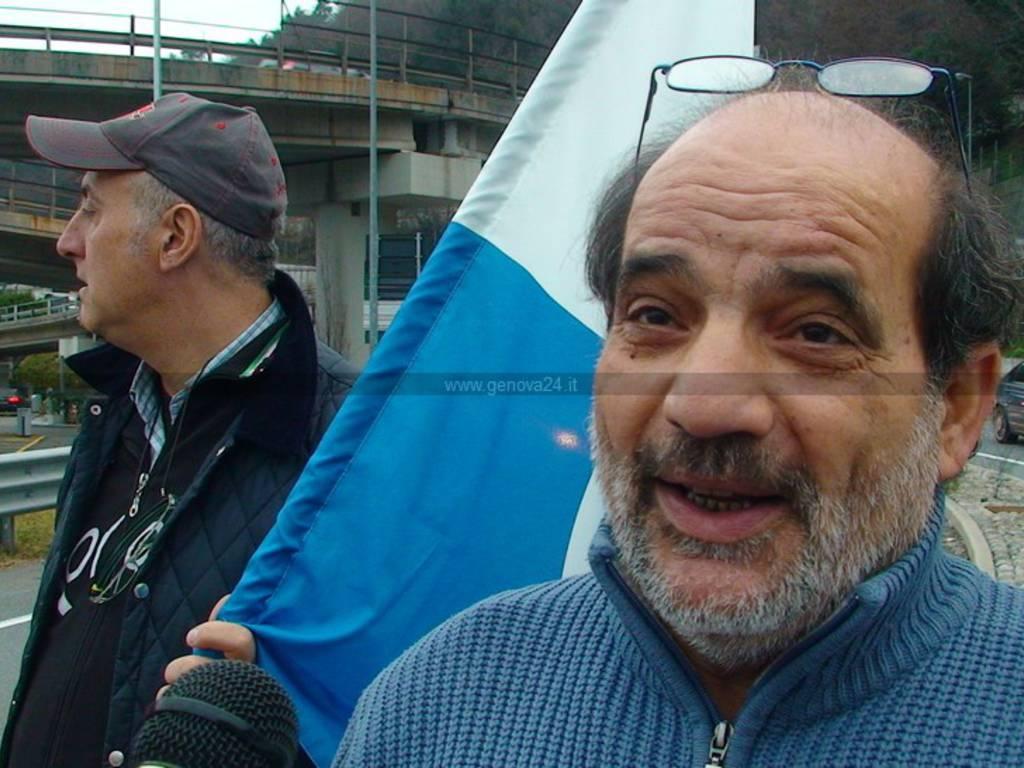 Gennaio - protesta bolzaneto trasporto unito