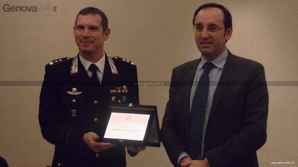 Genova - premio carabinieri per relitto