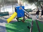 inaugurazione giochi per bambini alassio