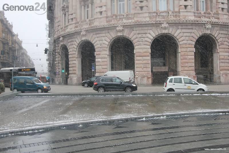 Neve Genova gennaio 2012