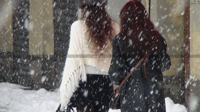 Neve valbormida gennaio