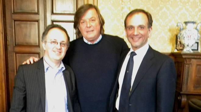 Panatta, Berruti e Martino