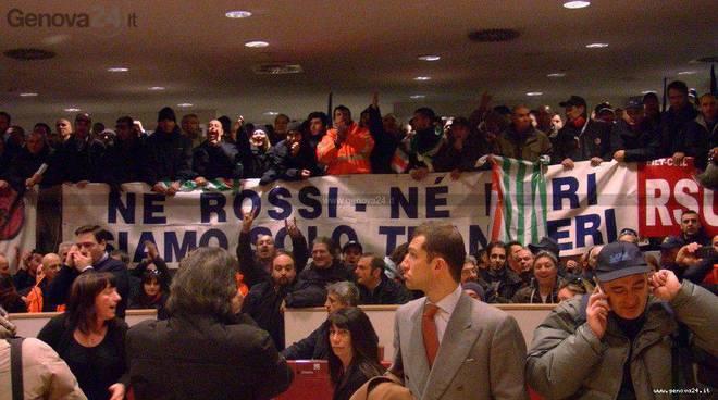 Protesta Amt Consiglio Regionale