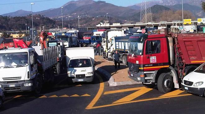 protesta autotrasportatori