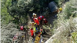 soccorsi ciclista Spotorno