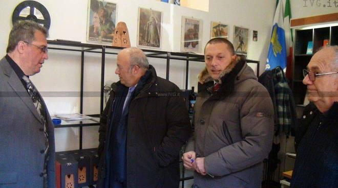 Storace a Savona - manifestazione e contromanifestazione