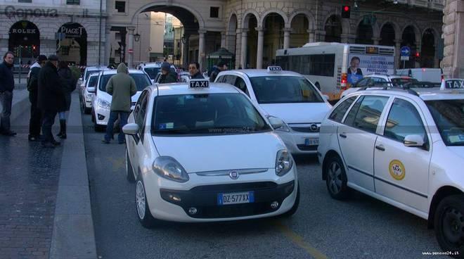 taxi protesta
