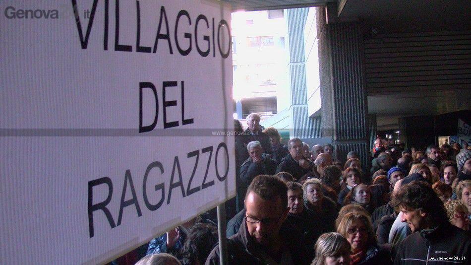 Terzo settore protesta regione