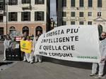 protesta carbone genova