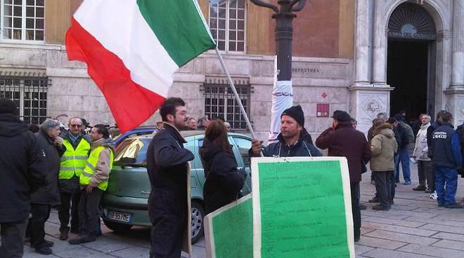 Protesta dei carrozzieri