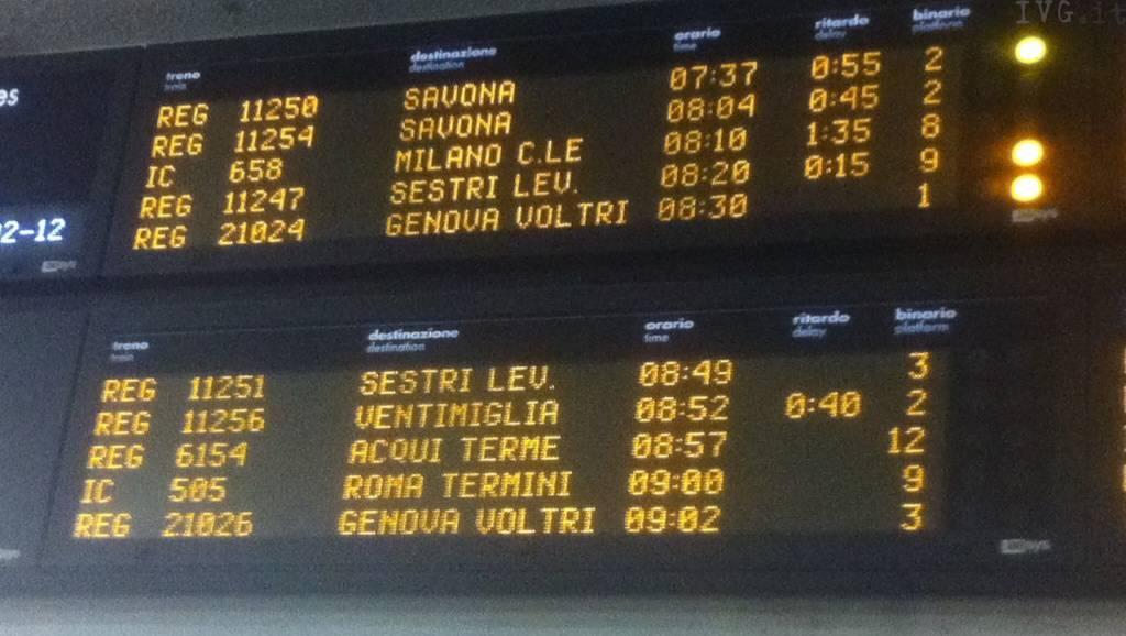 treni, ritardi, stazione