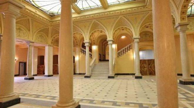 Atrio Colombia nuova sede biblioteca