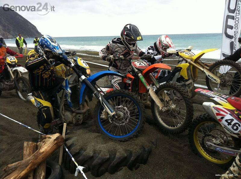 hard race liguria motocross rapallo