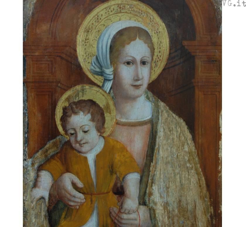 Madonna con Bambino del Casanova