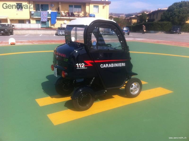 minicar carabinieri genova