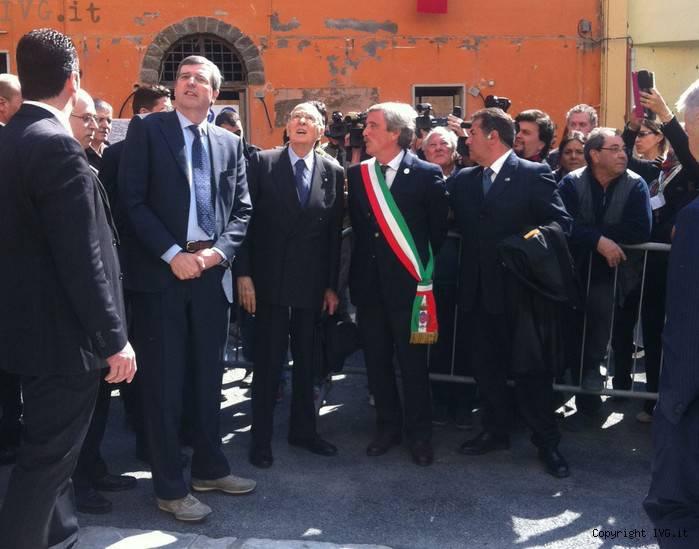 Napolitano a Vernazza