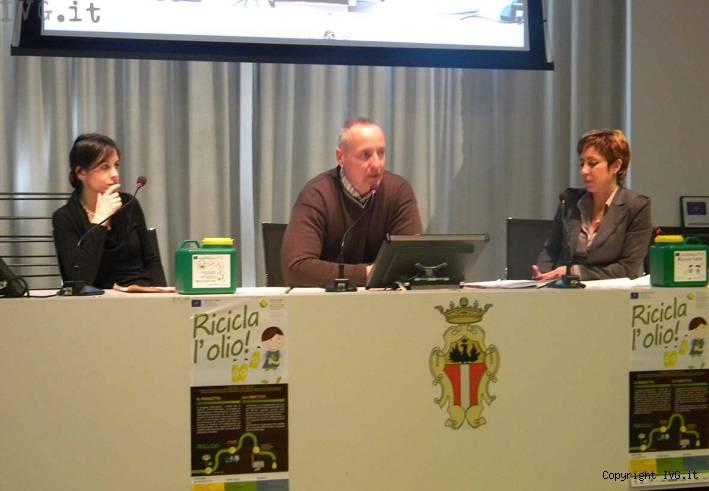 riciclolio conferenza stampa