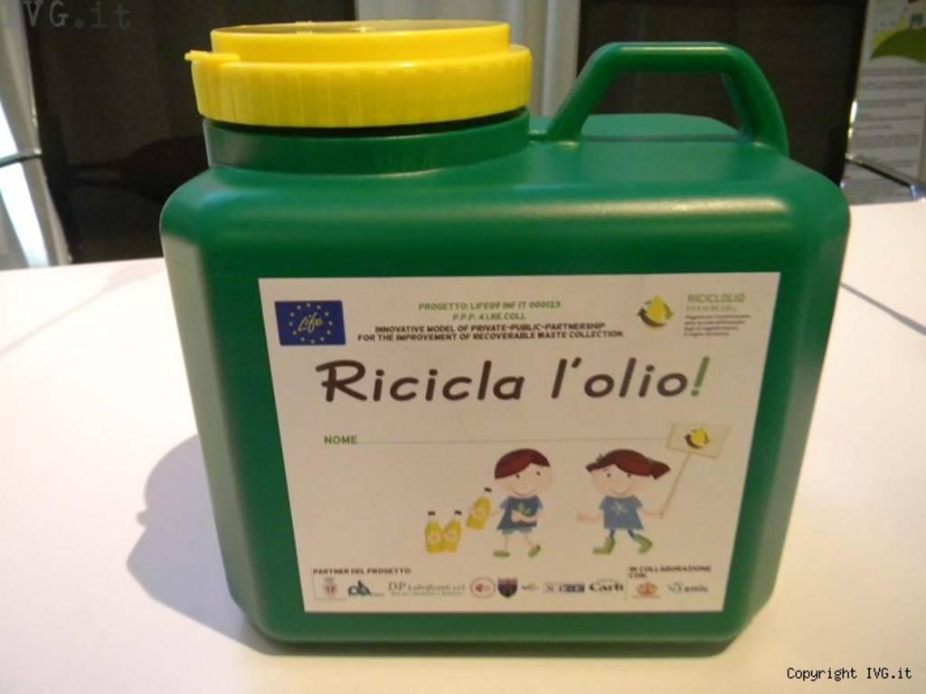 riciclolio, olio esausto