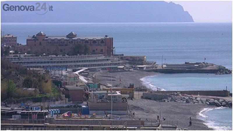 Spiaggia mare Corso italia