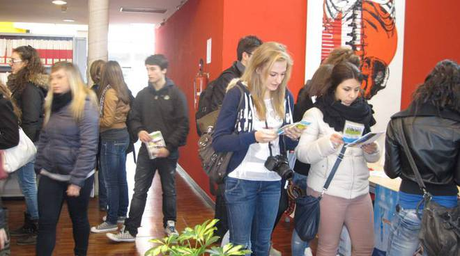 studenti, open day campus savona