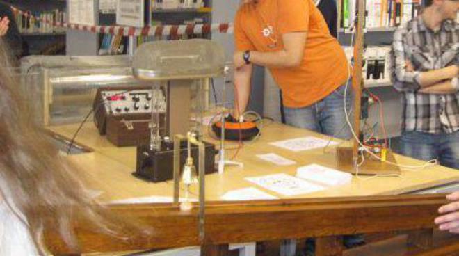 studenti, open day campus savona, laboratorio