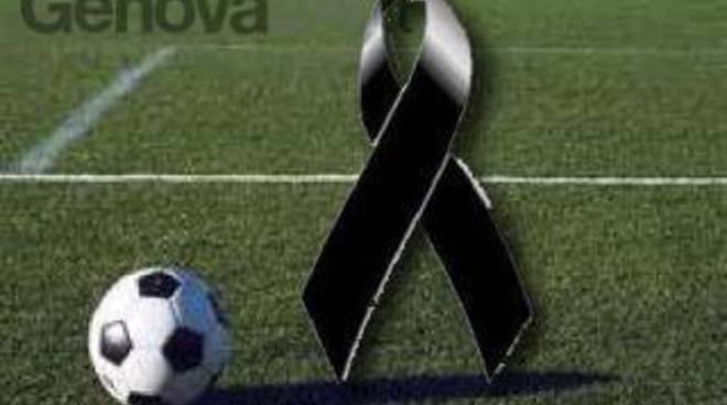 calcio lutto