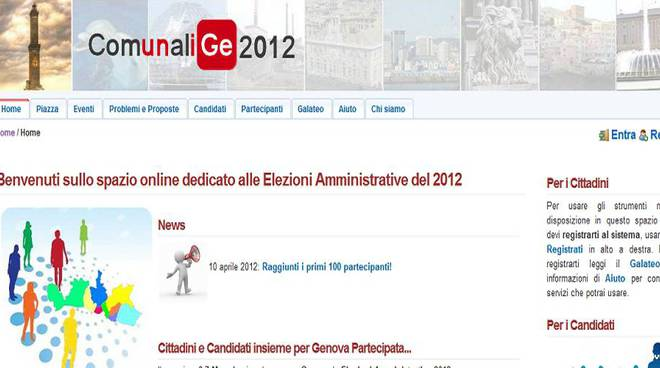 Comunali Genova 2012