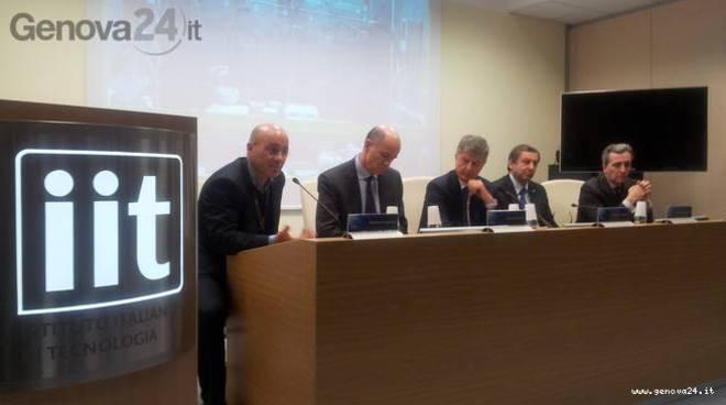 Genova - visita ministri IIt