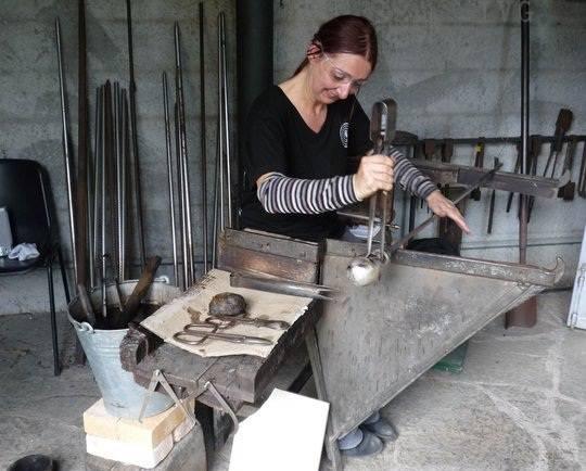 lavorazione vetro altare