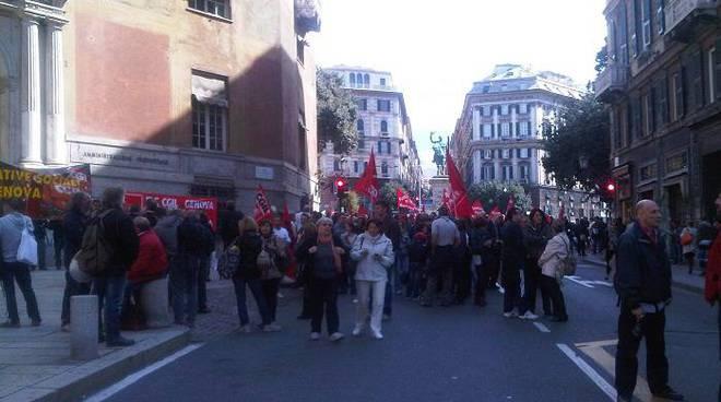 manifestazione cgil, dipendenti pubblici precari