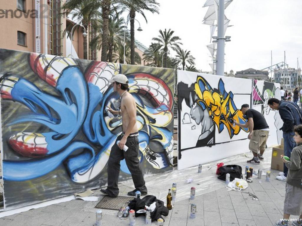 murales, writers