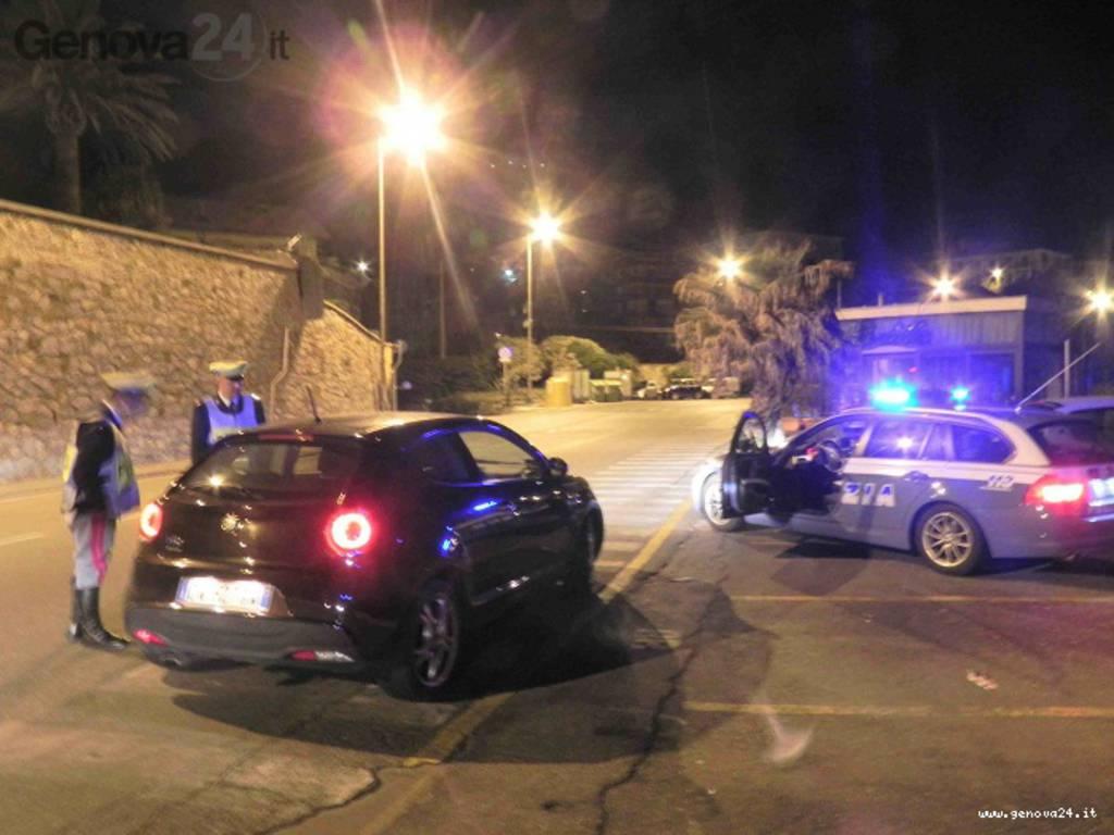 polizia controlli notte