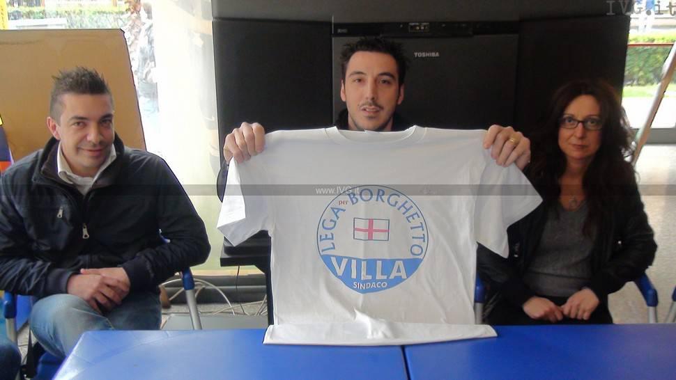 Presentazione lista Pier Paolo Villa