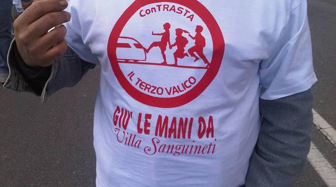 protesta scuola villa sanguineti