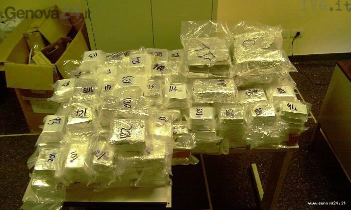 sequestro droga porto Genova