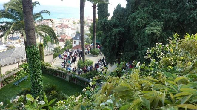 Alassio i giardini di villa pergola aperti al pubblico for Giardini villa della pergola