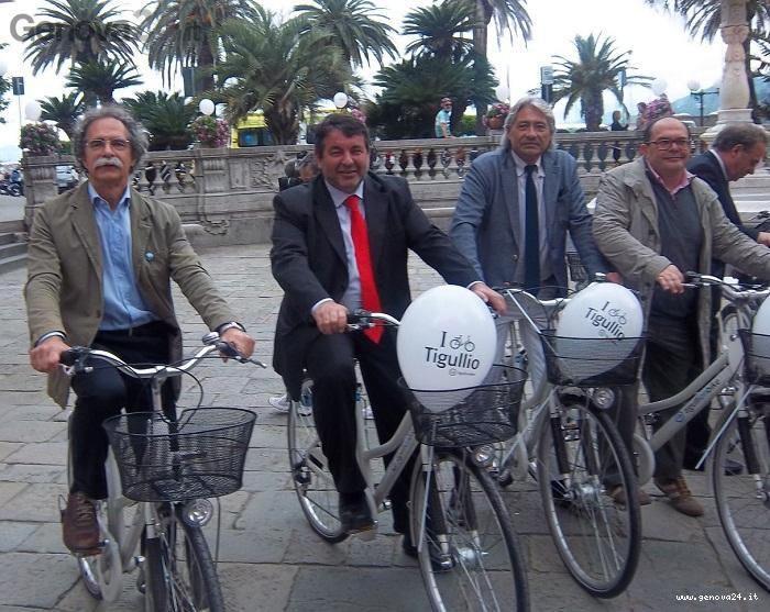 bike sharing sestri levante, lavagna, lavarello