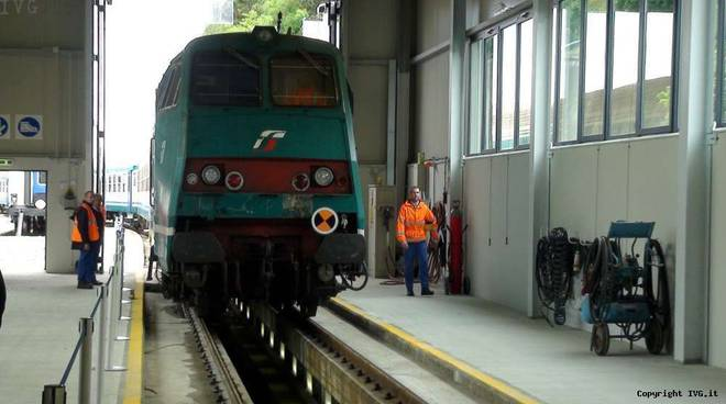 Inaugurazione manutenzione treni Savona