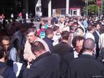 Manifestazione contro terrorismo a Genova