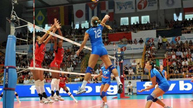 Nazionale femminile pallavolo Alassio