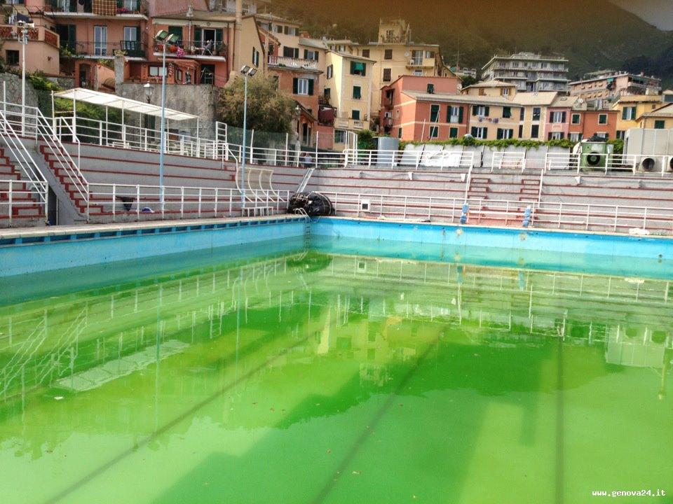 L 39 odissea della piscina di nervi sabato flash mob a for Piscina quinto genova