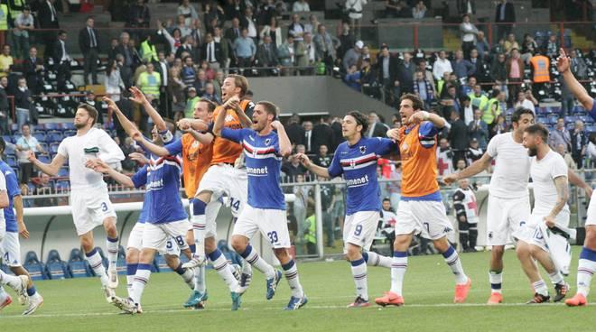 sampdoria - play off - rispoli - castellini - pozzi