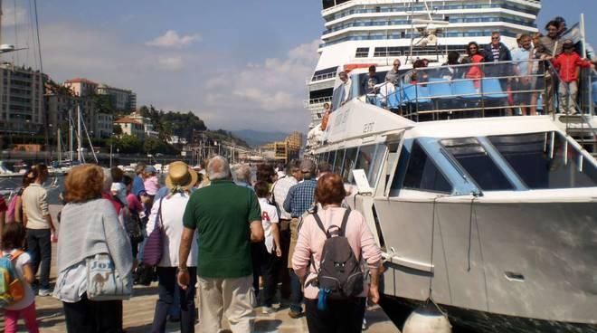 Savona in battello: oltre 300 persone per la giornata europea del mare