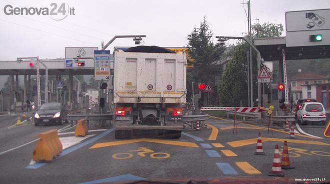 casello autostradale rapallo