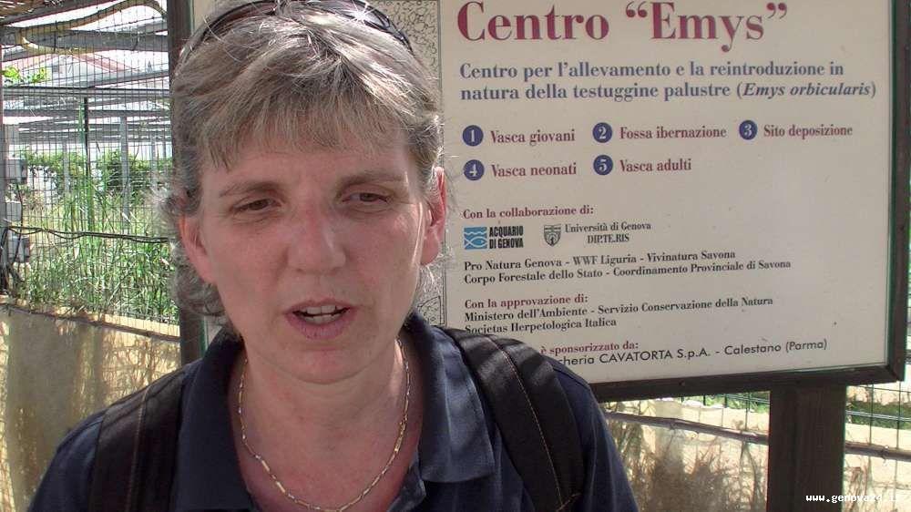 Claudia Gili, Acquario di Genova